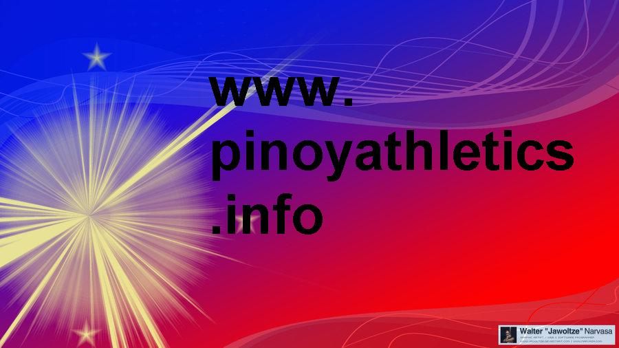 pinoyathletics national records