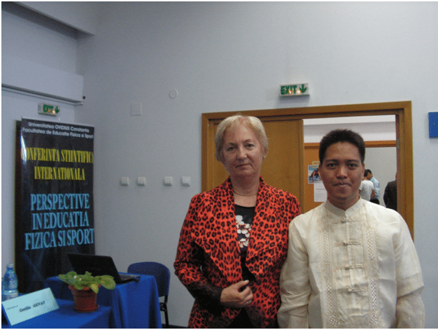 Me with Prof. Cecila Gevat which is the main organizer of the conference.
