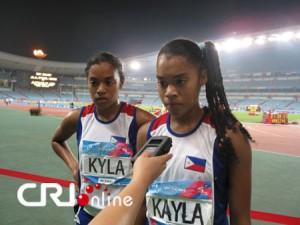 Kyla and Kayla Richardson GOOD JOB!