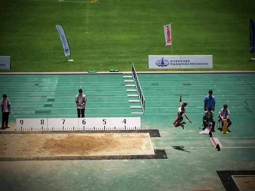Torres on her way to jump 6.26m Photo Credit: Carol Lee