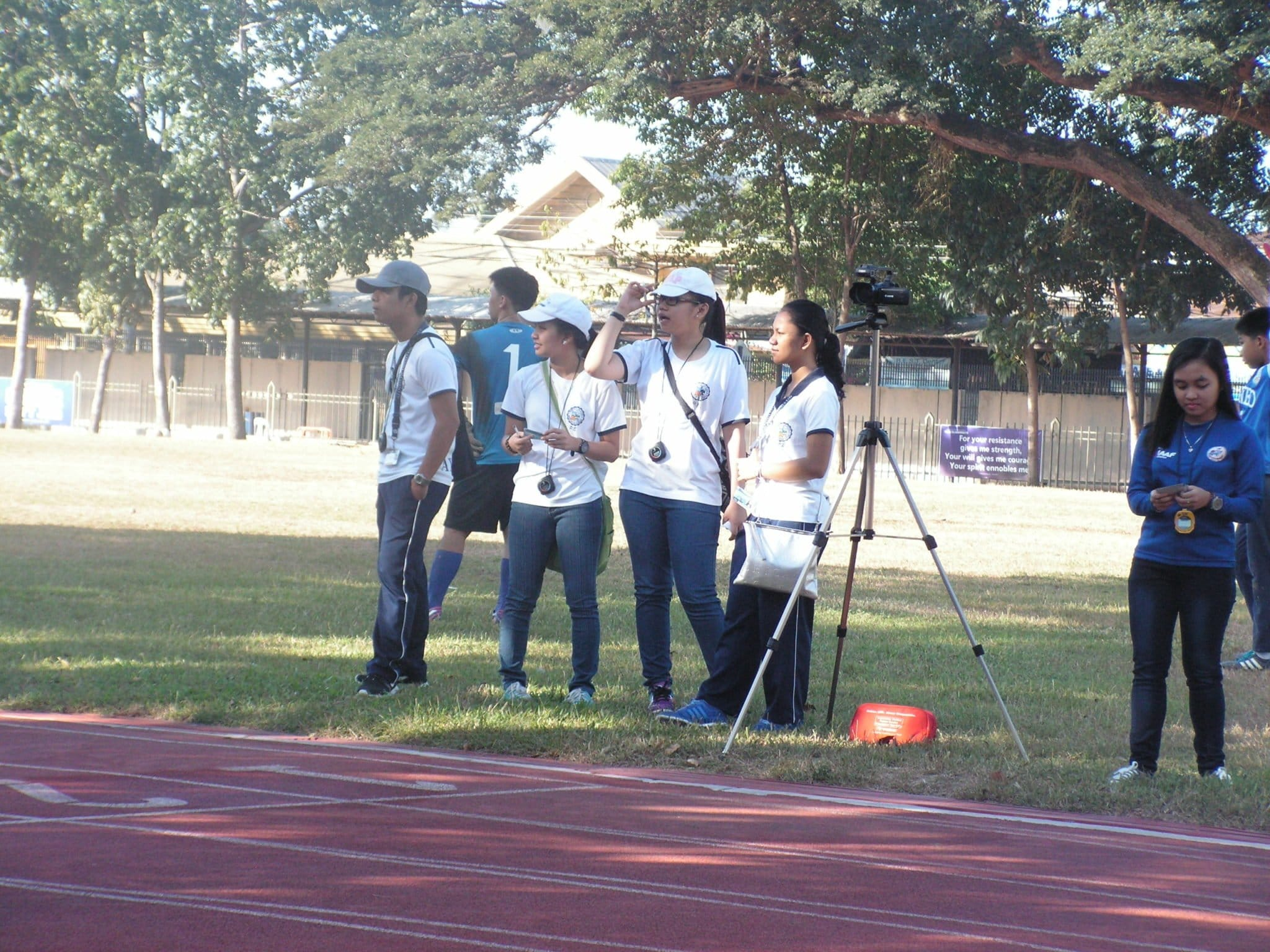 At the Blue Knights Track League, it involves students as technical officials. Hence it provides better participation to different stakeholders and not just being dependent to the usual system.