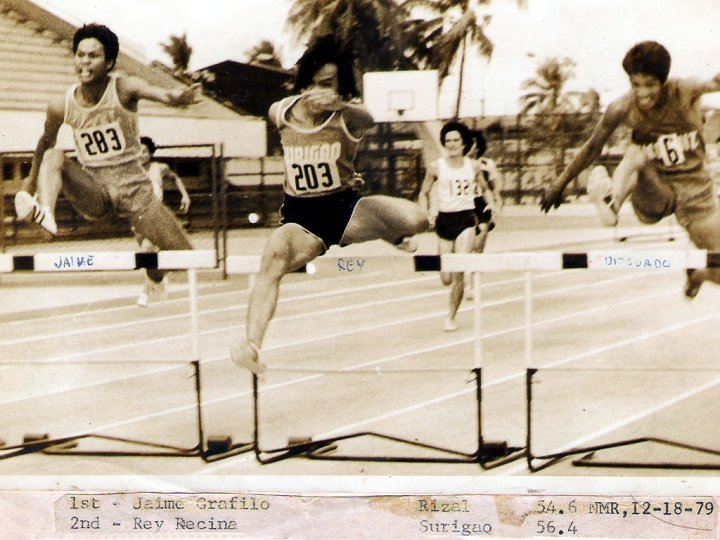 Early Days running in Palaro beating Rey Recino