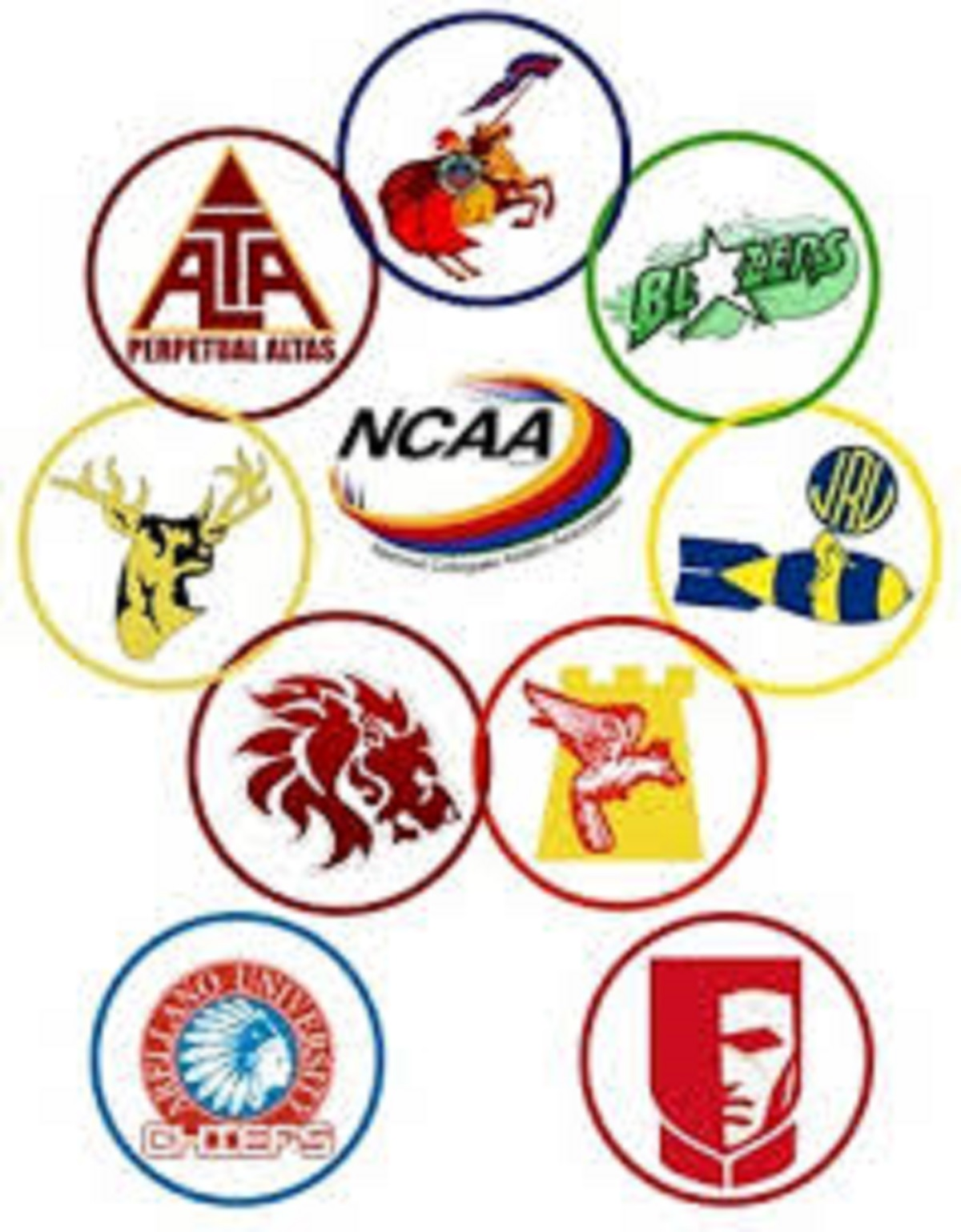 2017 Philippines NCAA Athletic Results