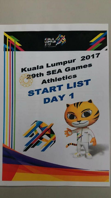 2017 SEA Games Athletics Results 12