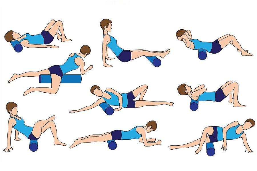 self massage for runners foam roller
