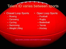 Talent Identification for Speed and Power Athletes