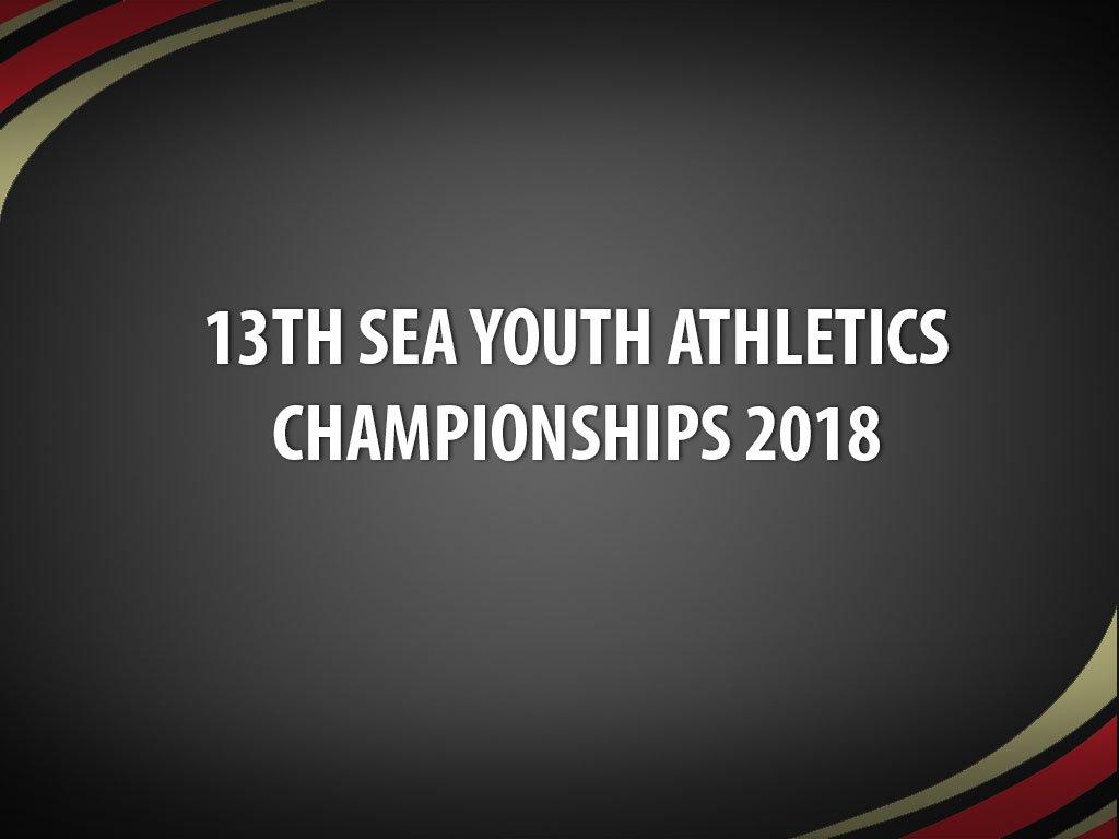 2018 sea youth athletics championships