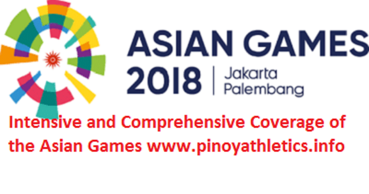 2018 Asian Games Philippines Team List