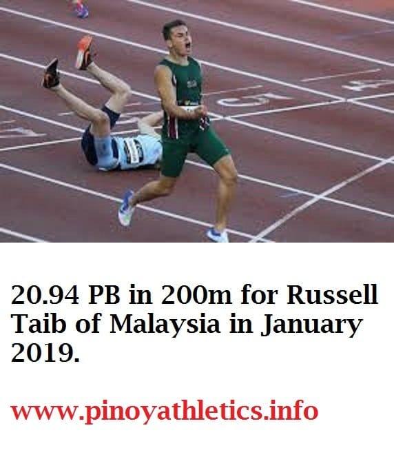 2019 Malaysian Athletics 10
