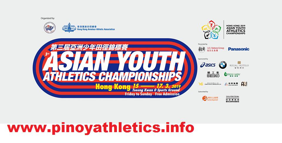 2019 Asian Youth Championships Athletics