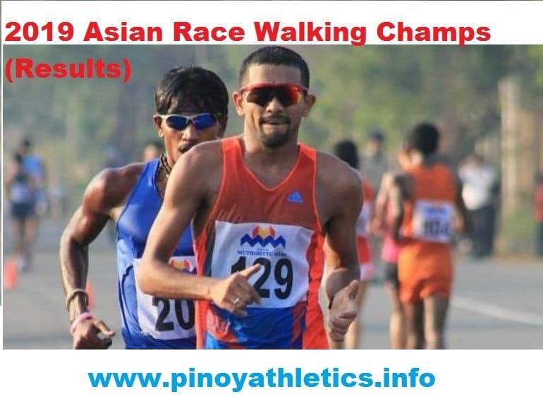 2019 Asian Race Walking Champs