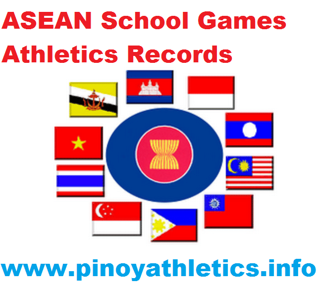ASEAN SCHOOL GAMES RECORDS