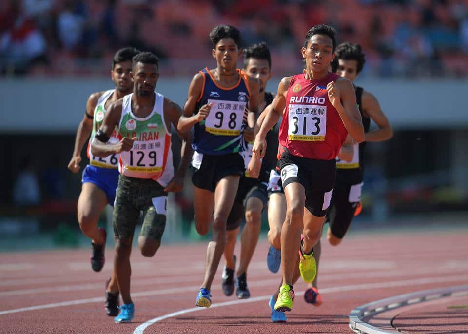 Methdology SEA Games Mens 1500m