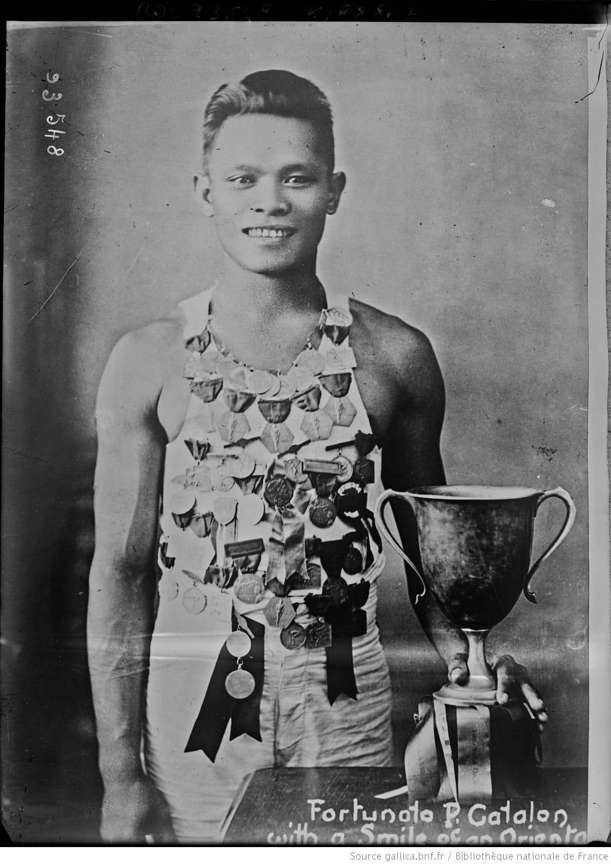 Glico Man Fortunato Catalon the Greatest of 1920s Filipino Sprinters 1